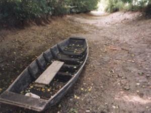 Barque à sec