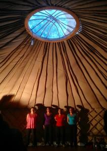 Cabaret d'improvisation de La ligue de la LILI au camping de La Frênaie