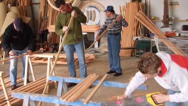 Auto-construire sa yourte, un jeu d'enfant !